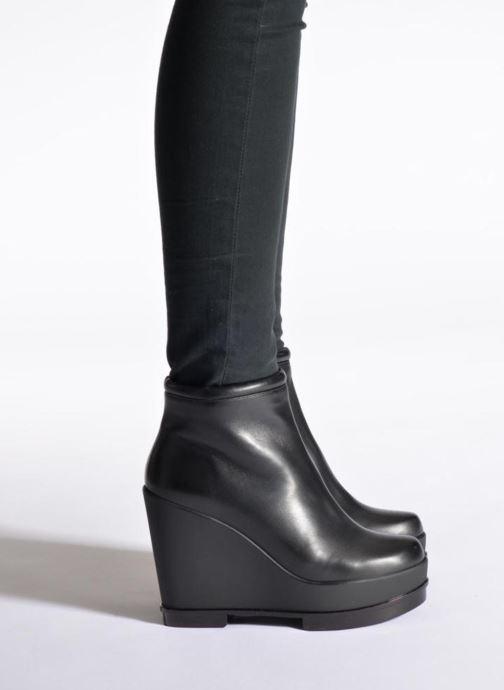 Boots en enkellaarsjes Clergerie Sarlaj Zwart onder