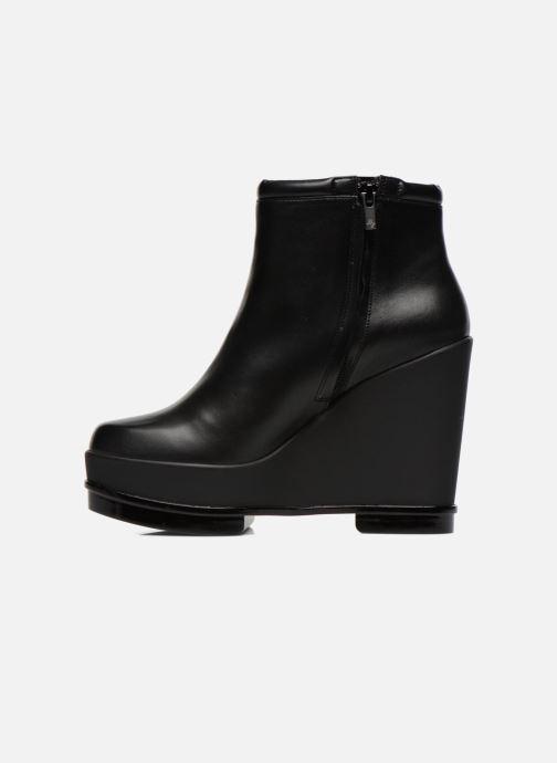 Boots en enkellaarsjes Clergerie Sarlaj Zwart voorkant