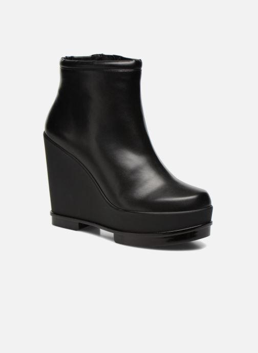 Boots en enkellaarsjes Clergerie Sarlaj Zwart detail