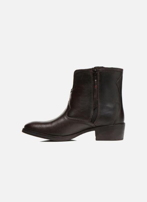 Bottines et boots Levi's Charlotte Cowboy Gris vue face