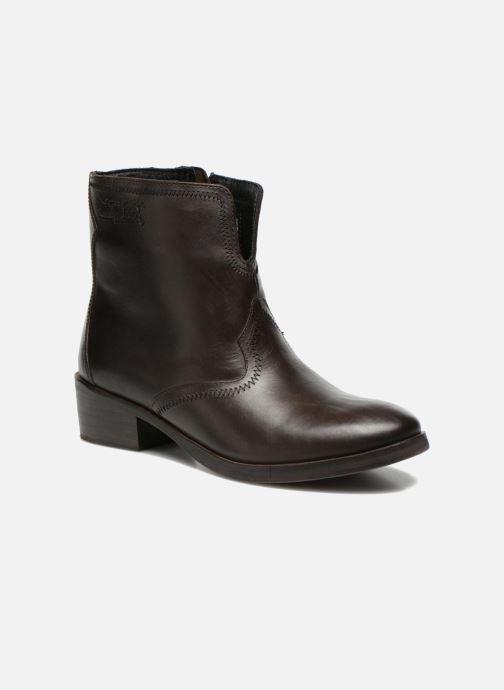 Bottines et boots Levi's Charlotte Cowboy Gris vue détail/paire