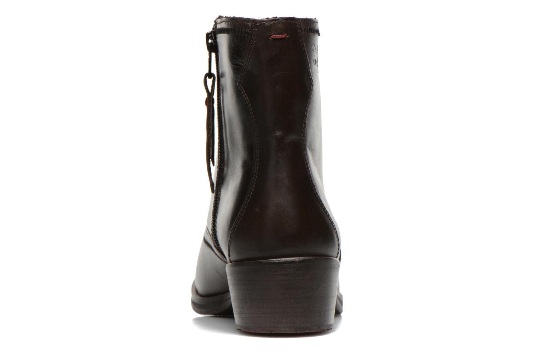 Bottines et boots Levi's Charlotte Cowboy Gris vue droite