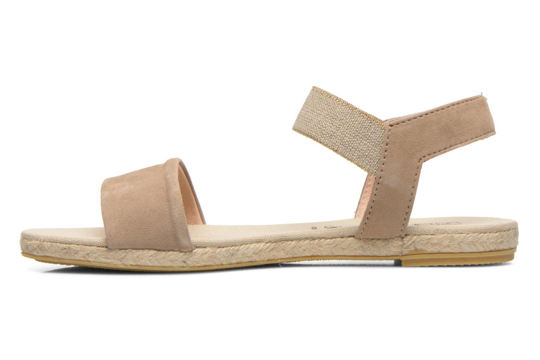 Sandales et nu-pieds La maison de l'espadrille Sandale 1091 Beige vue face