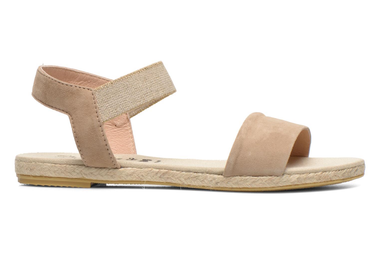 Sandales et nu-pieds La maison de l'espadrille Sandale 1091 Beige vue derrière