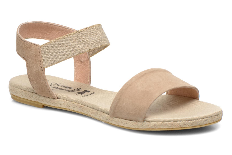 Sandales et nu-pieds La maison de l'espadrille Sandale 1091 Beige vue détail/paire