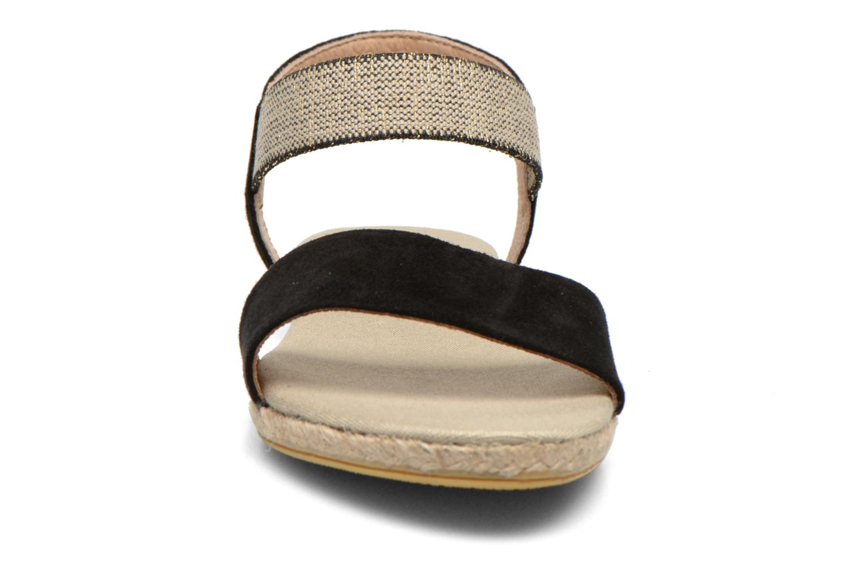 Sandales et nu-pieds La maison de l'espadrille Sandale 1091 Noir vue portées chaussures