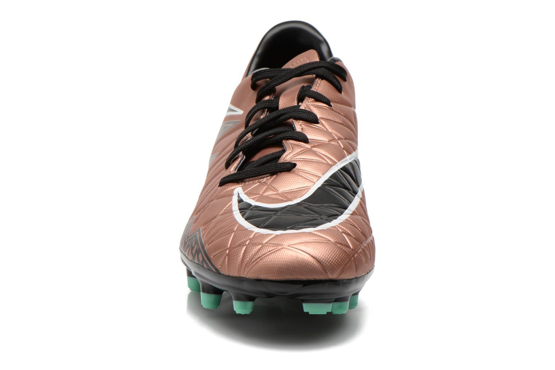 Chaussures de sport Nike Hypervenom Phelon II Fg Or et bronze vue portées chaussures