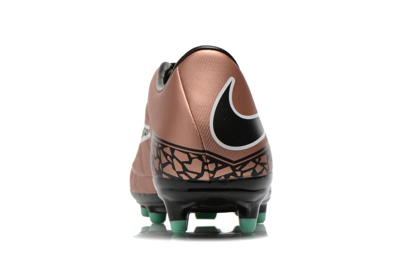 Chaussures de sport Nike Hypervenom Phelon II Fg Or et bronze vue droite