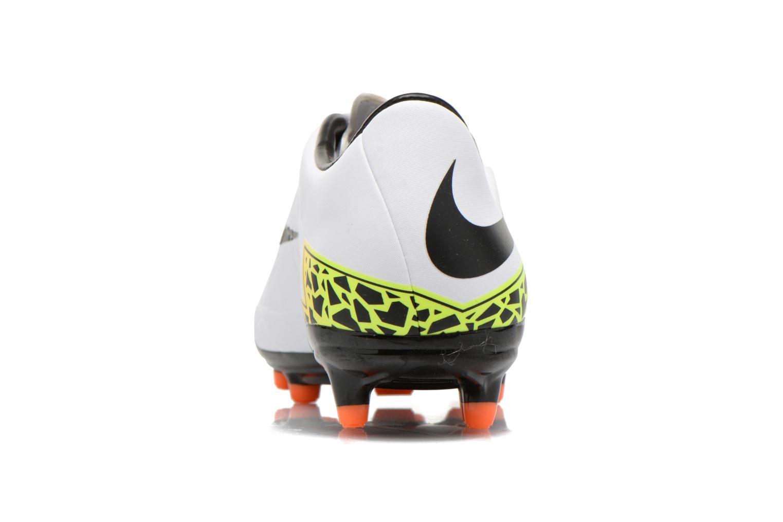 Chaussures de sport Nike Hypervenom Phelon II Fg Blanc vue droite