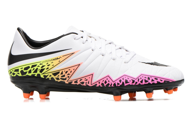 Chaussures de sport Nike Hypervenom Phelon II Fg Blanc vue derrière