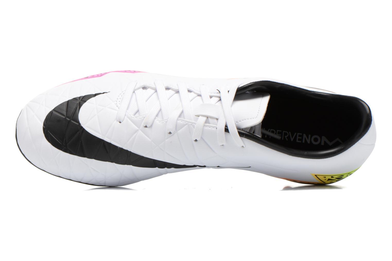 Chaussures de sport Nike Hypervenom Phelon II Fg Blanc vue gauche