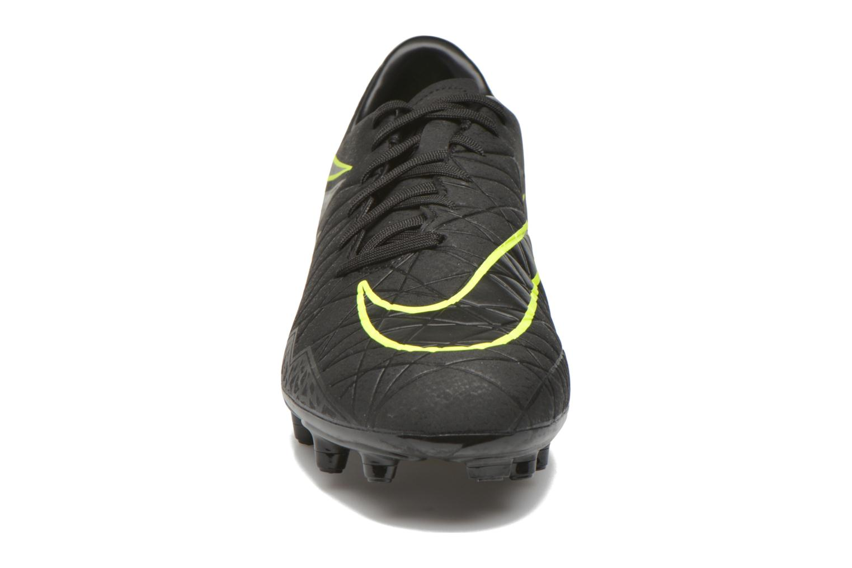 Chaussures de sport Nike Hypervenom Phelon II Fg Noir vue portées chaussures