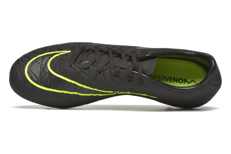 Chaussures de sport Nike Hypervenom Phelon II Fg Noir vue gauche