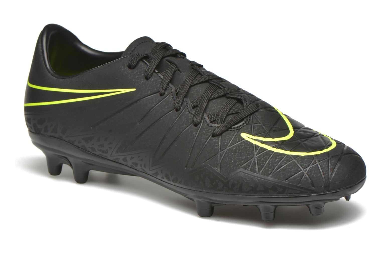 Chaussures de sport Nike Hypervenom Phelon II Fg Noir vue détail/paire