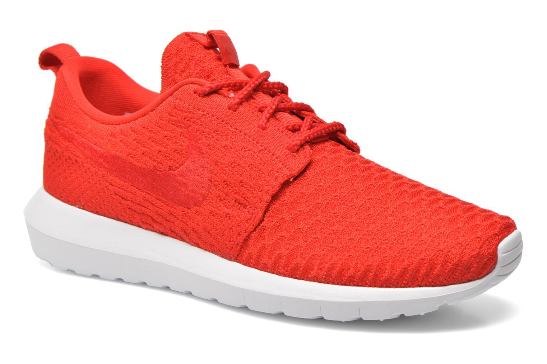 promo code 7c662 a155a ... new style sneakers nike nike roshe nm flyknit rød detaljeret billede af  skoene b0804 a081f