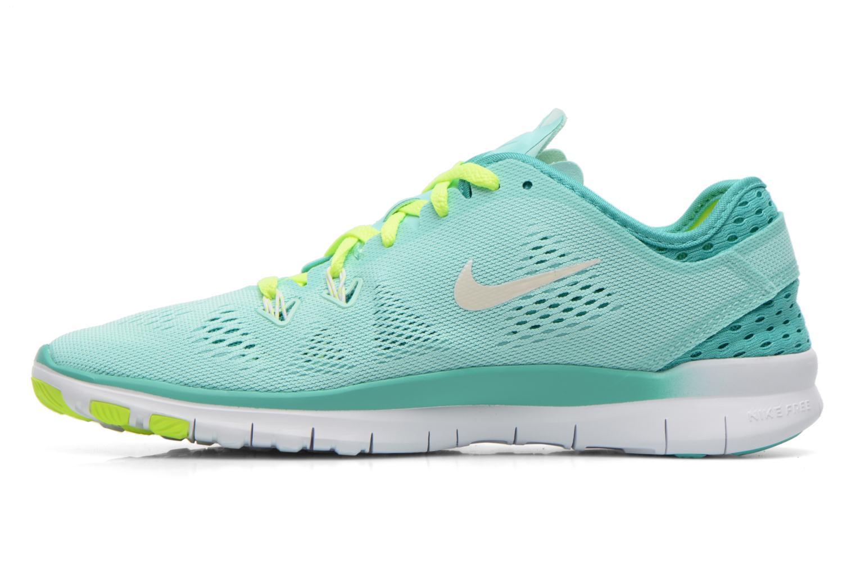 Chaussures de sport Nike W Nike Free 5.0 Tr Fit 5 Brthe Vert vue face
