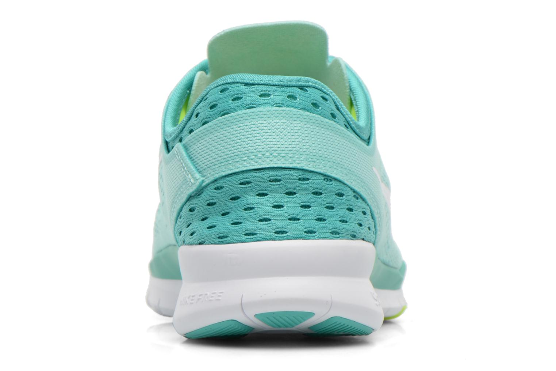 Chaussures de sport Nike W Nike Free 5.0 Tr Fit 5 Brthe Vert vue droite
