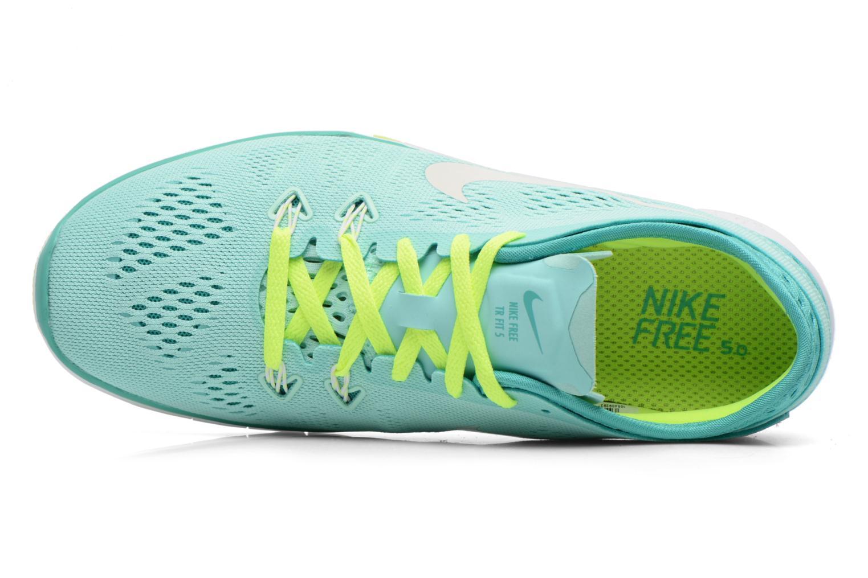Chaussures de sport Nike W Nike Free 5.0 Tr Fit 5 Brthe Vert vue gauche