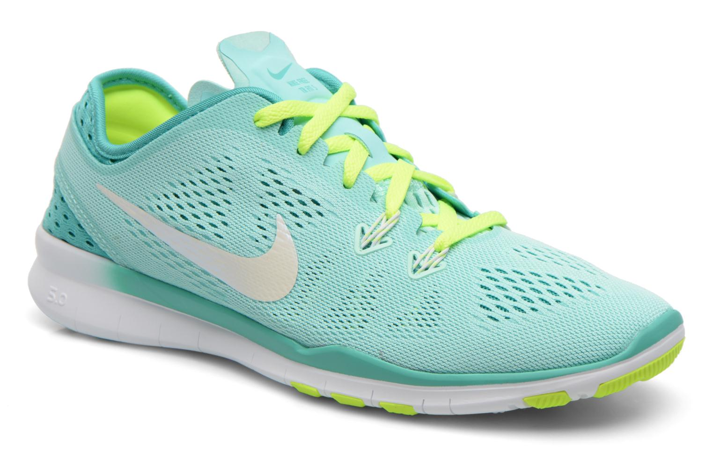 more photos f2b7c f116a ... coupon chaussures de sport nike w nike free 5.0 tr fit 5 brthe vert vue  détail