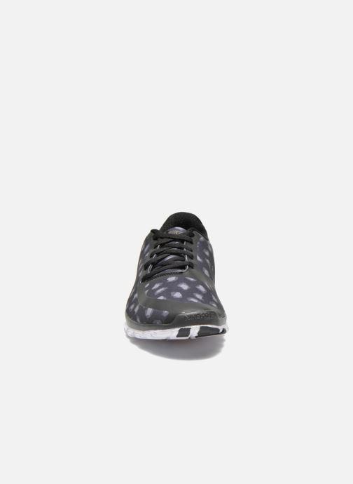 Sportschuhe Nike W Nk Free 5.0 V4 Ns Pt schwarz schuhe getragen