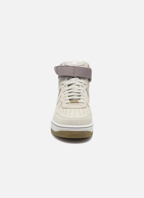 Sneakers Nike Wmns Air Force 1 Hi Prm Beige se skoene på