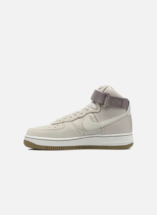 Sneakers Nike Wmns Air Force 1 Hi Prm Beige se forfra