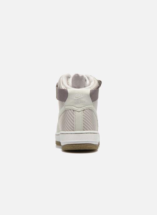 Sneakers Nike Wmns Air Force 1 Hi Prm Beige Se fra højre
