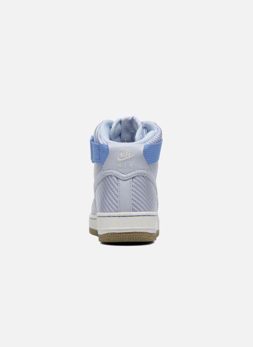 Baskets Nike Wmns Air Force 1 Hi Prm Bleu vue droite