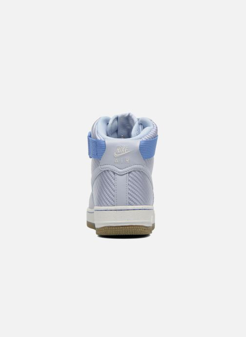 Trainers Nike Wmns Air Force 1 Hi Prm Blue view from the right