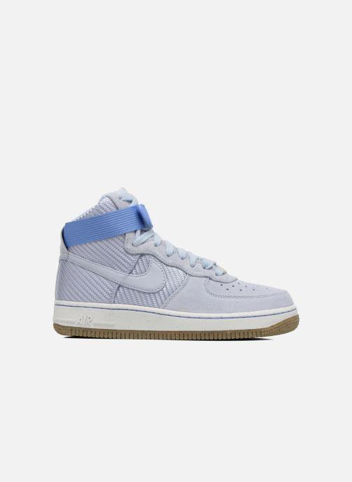 Deportivas Nike Wmns Air Force 1 Hi Prm Azul vistra trasera