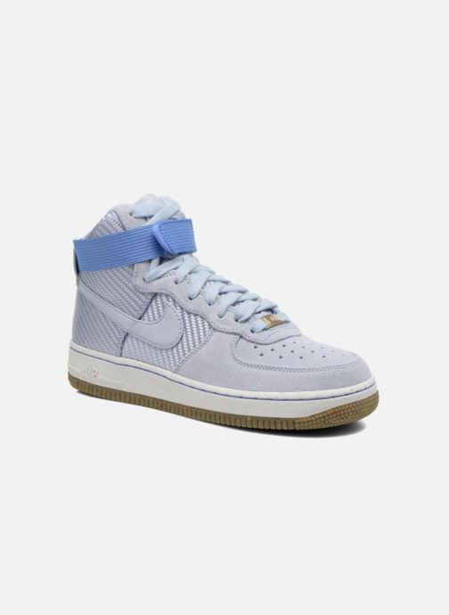 Baskets Nike Wmns Air Force 1 Hi Prm Bleu vue détail/paire