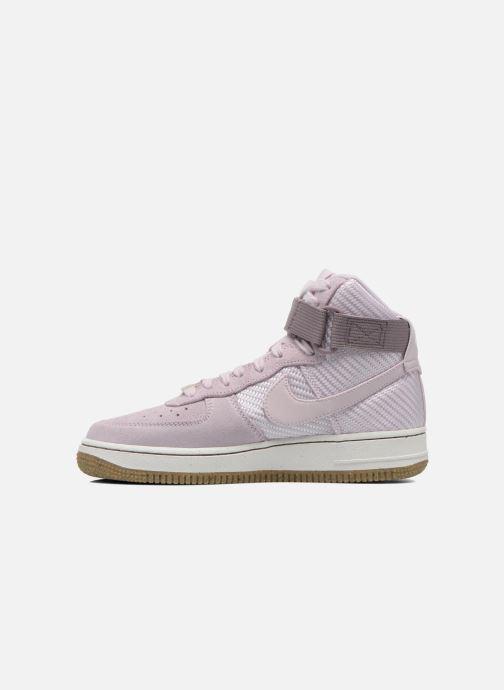Baskets Nike Wmns Air Force 1 Hi Prm Violet vue face