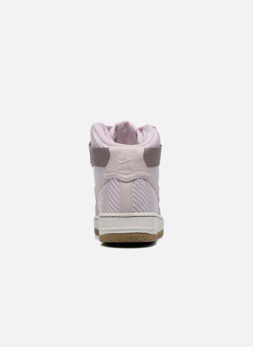 Sneakers Nike Wmns Air Force 1 Hi Prm Lilla Se fra højre