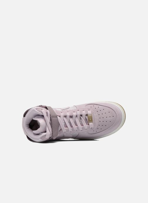 Sneakers Nike Wmns Air Force 1 Hi Prm Viola immagine sinistra