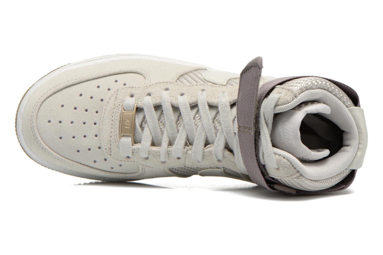 Sneakers Nike Wmns Air Force 1 Hi Prm Beige se fra venstre