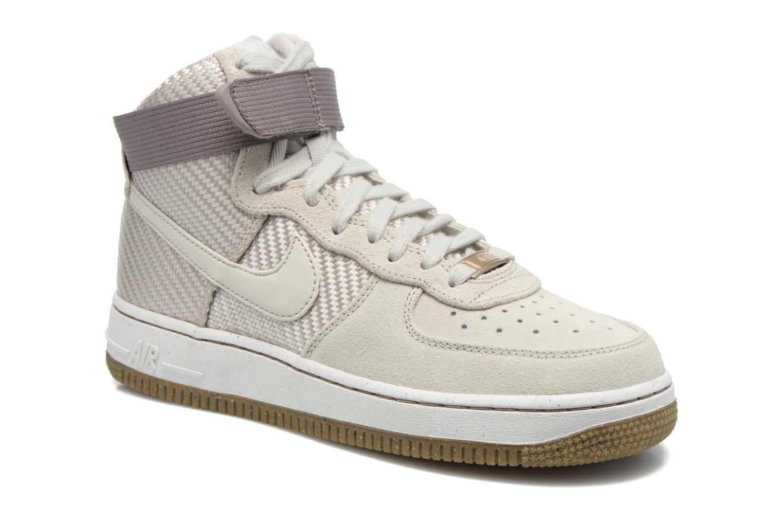 Sneakers Nike Wmns Air Force 1 Hi Prm Beige detaljeret billede af skoene