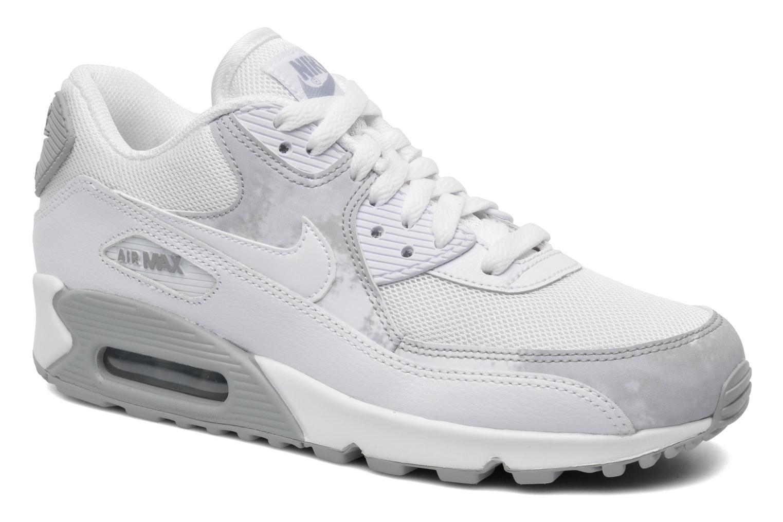 best sneakers e2862 6af0d Sneakers Nike Wmns Air Max 90 Print Vit detaljerad bild på paret
