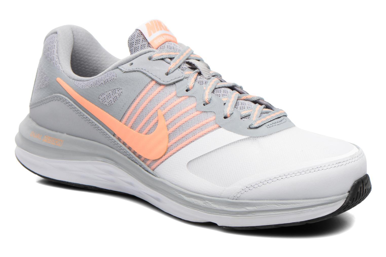 best service 4fa09 ee274 Nike Nike Nike Femme Nike Dual Fusion X Gris Chaussures de sport chez b362c5