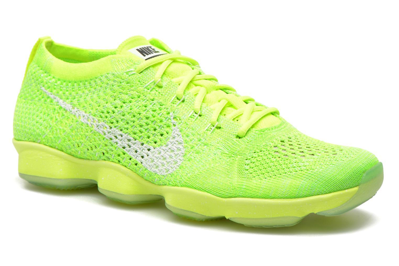 promo code 1e577 b318f ... clearance chaussures de sport nike wmns nike flyknit zoom agility vert  vue détail paire 5d569 b3df2