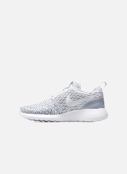 Sneaker Nike Wmns Roshe One Flyknit grau ansicht von vorne