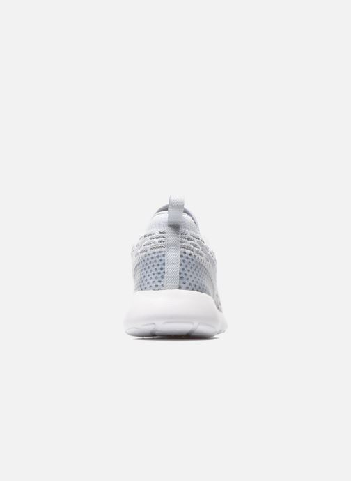 Baskets Nike Wmns Roshe One Flyknit Gris vue droite