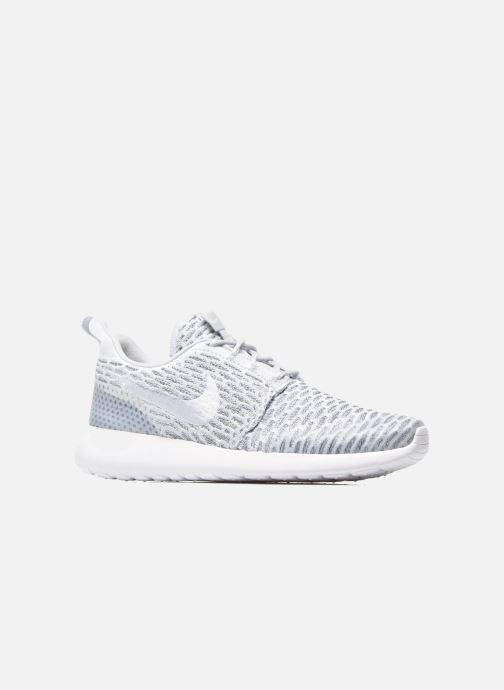 Sneaker Nike Wmns Roshe One Flyknit grau ansicht von hinten