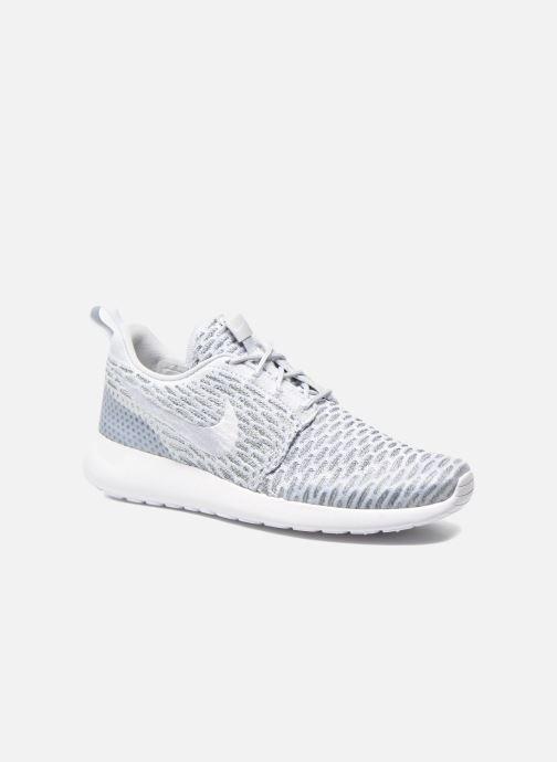 Sneaker Nike Wmns Roshe One Flyknit grau detaillierte ansicht/modell