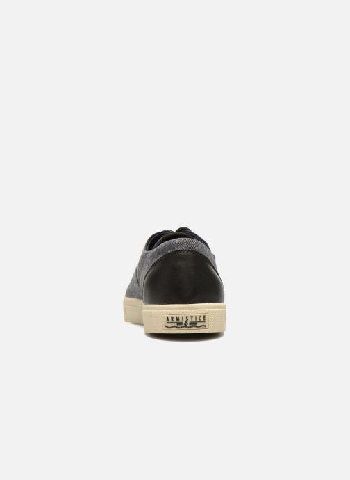 Sneakers Armistice Hope Trainer Ash/Leather Grain Nero immagine destra