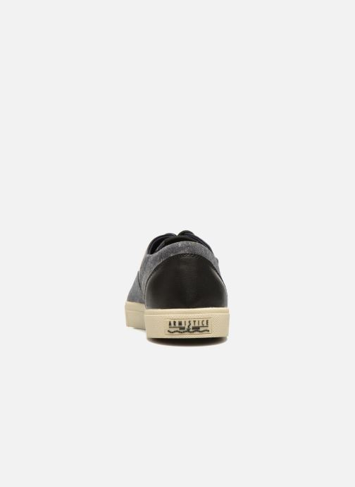 Sneakers Armistice Hope Trainer Ash/Leather Grain Nero immagine destra