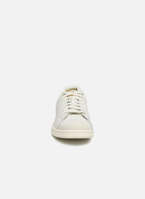Baskets adidas originals Stan Smith Premium Blanc vue portées chaussures