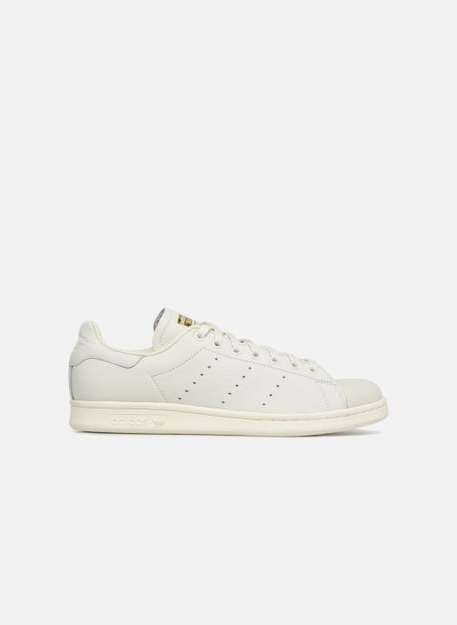 Baskets adidas originals Stan Smith Premium Blanc vue derrière