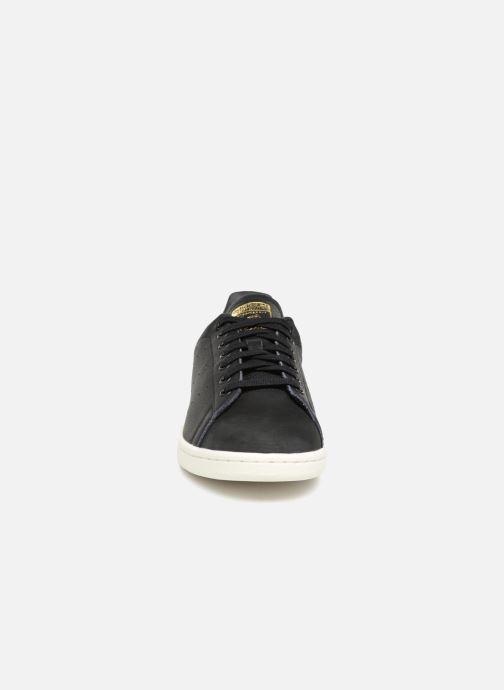 Baskets adidas originals Stan Smith Premium Noir vue portées chaussures
