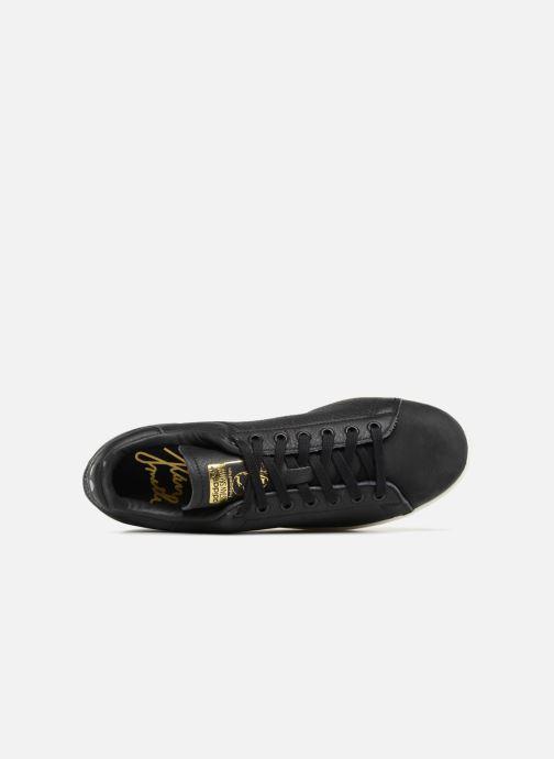 Sneaker Adidas Originals Stan Smith Premium schwarz ansicht von links