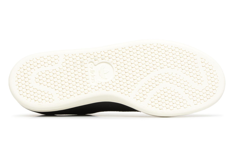 Baskets Adidas Originals Stan Smith Premium Noir vue haut